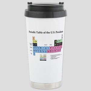Periodic Table of the U Stainless Steel Travel Mug