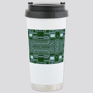 Circuit Board Stainless Steel Travel Mug