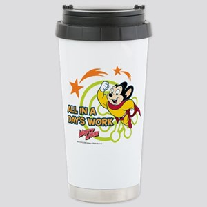 Mighty Mouse: All In A Stainless Steel Travel Mug