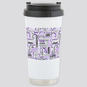 Gymnastics Messenger Ba Stainless Steel Travel Mug