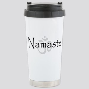 Namaste Stainless Steel Travel Mug