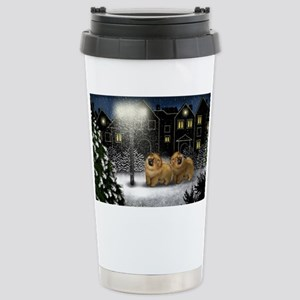 snowtown cc Stainless Steel Travel Mug