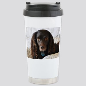 Halle in Bed Stainless Steel Travel Mug