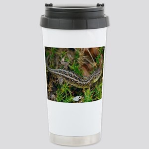 Male sand lizard - Stainless Steel Travel Mug