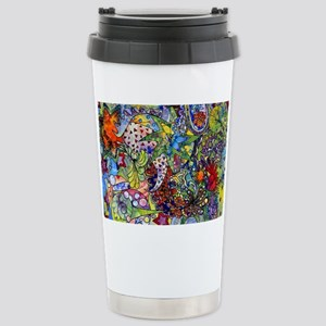 cool Paisley Stainless Steel Travel Mug