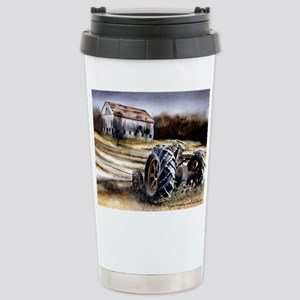 Old Tractor Stainless Steel Travel Mug