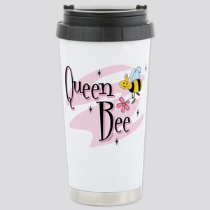 Queen Bee Stainless Steel Travel Mug