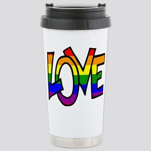 Rainbow Pride Love Mugs