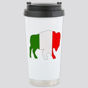 Italian Buffalo Stainless Steel Travel Mug