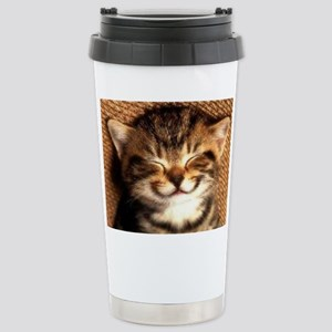 Cat Stainless Steel Tumblers Cafepress