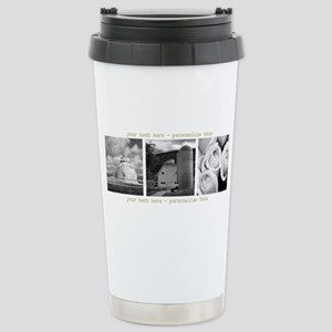 Your Artwork and Text here Travel Mug