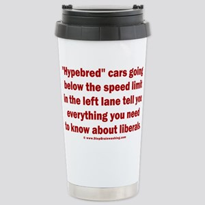 Hypebred Cars n Liberal Stainless Steel Travel Mug