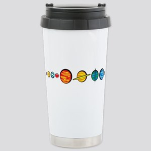 Pluto Who? Stainless Steel Travel Mug