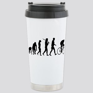 Cycling Evolution Stainless Steel Travel Mug