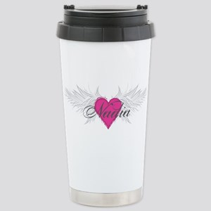 Nadia-angel-wings Stainless Steel Travel Mug