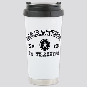 Marathon In Training Stainless Steel Travel Mug