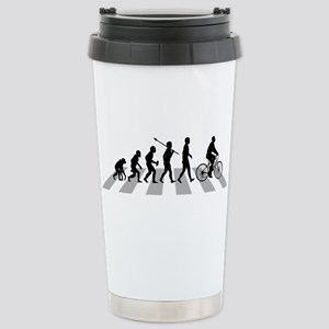 Bicycle Rider Stainless Steel Travel Mug