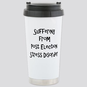 Post Election Stress Di Stainless Steel Travel Mug