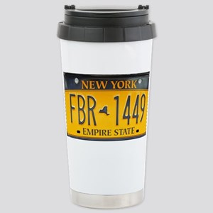 New York Stainless Steel Travel Mug