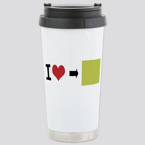 Customize Photo I heart Travel Mug
