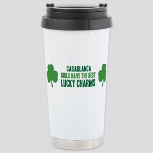 Casablanca lucky charms Stainless Steel Travel Mug