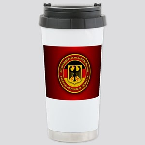 German Emblem Stainless Steel Travel Mug