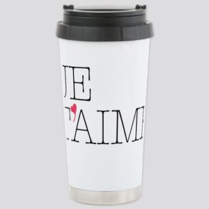 Je Taime Stainless Steel Travel Mug