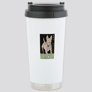 Pit Bull 8 Stainless Steel Travel Mug