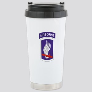 173rd Airborne Stainless Steel Travel Mug