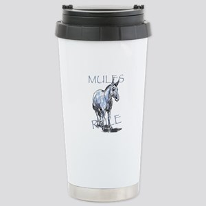 Mules Rule Travel Mug