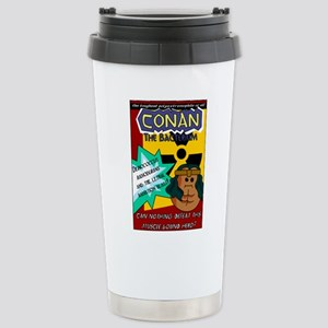 Conan the Bacterium Stainless Steel Travel Mug