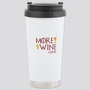 More Wine Ceramic Travel Mug