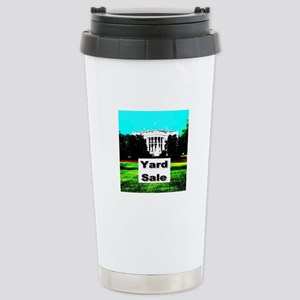 White House Yard Sale Stainless Steel Travel Mug