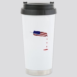 Eagle Feather Flag Travel Mug