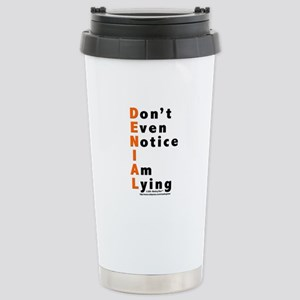 DENIAL Stainless Steel Travel Mug