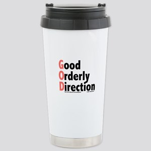 GOD Stainless Steel Travel Mug