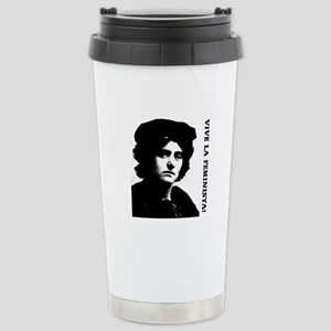Vive la feminista! Stainless Steel Travel Mug