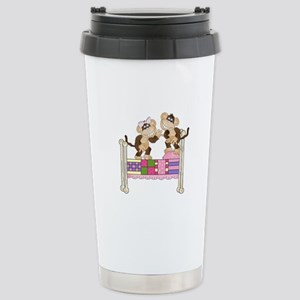 Jumping Monkeys Stainless Steel Travel Mug