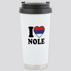 Nole Serbia Stainless Steel Travel Mug
