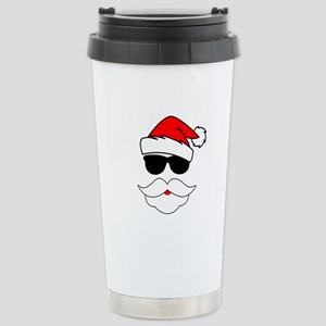 Cool Santa Claus Stainless Steel Travel Mug