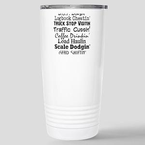 Big Rig Drivin' Stainless Steel Travel Mug