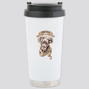 Pikes Peak Pitbulls Stainless Steel Travel Mug