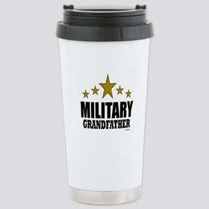 Military Grandfather Stainless Steel Travel Mug