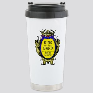 Drum Major: King of the Stainless Steel Travel Mug