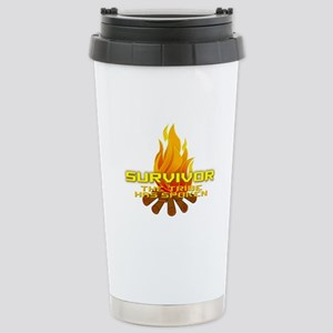 Survivor The Tribe Has Spoken Stainless Steel Trav