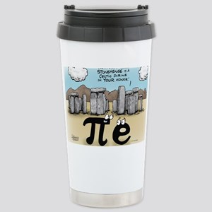 Pi_57 Stonehenge (10x10 Color) Stainless Steel Tra