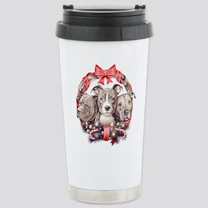 It's a Pit Bull Christmas Travel Mug