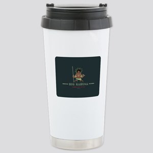 Big Kahuna with Figure Stainless Steel Travel Mug
