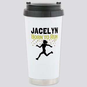 TRACK AND FIELD Stainless Steel Travel Mug