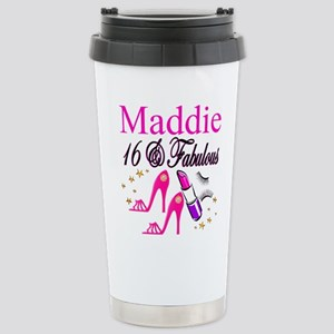 FABULOUS 16TH Stainless Steel Travel Mug